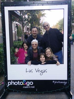 family Vegas shot