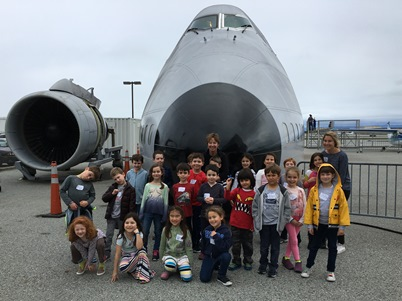 first grades at air museum