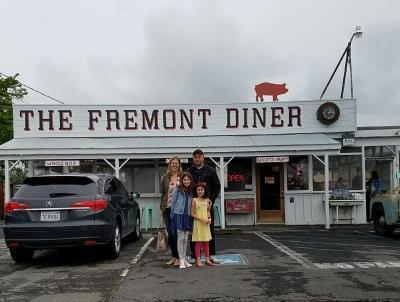 family at Fremont