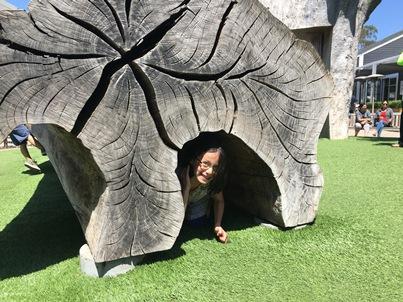 Avery at playground