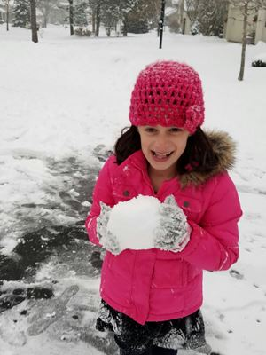 avery-with-snowball