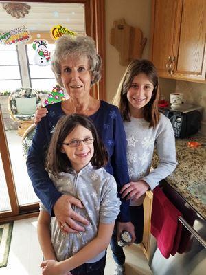 girls-and-grandma-in-kitchen